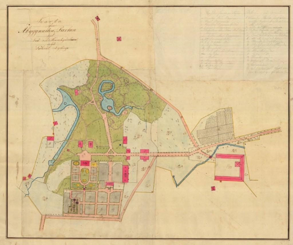 Arealmätn 1813 gården